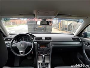 Vw Passat edition wolfsburg,DSG, 2015, interior piele - imagine 7