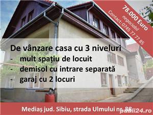 De vânzare casa cu 3 niveluri, mult spațiu de locuit și spațiu ideal pentru afacere, garaj în curte - imagine 10