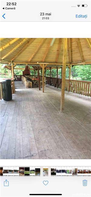 Inchiriez cabana cu piscina si ciubar jacuzzi - imagine 4
