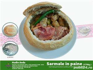 Meniul zilei,pizza,paste,ciorbe,burger,salate,platouri,aperitive,desert,sarmale,livrare in Zalau - imagine 5