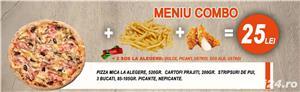 Meniul zilei,pizza,paste,ciorbe,burger,salate,platouri,aperitive,desert,sarmale,livrare in Zalau - imagine 4