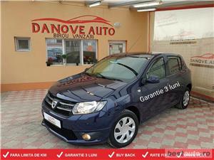 Dacia Sandero,GARANTIE 3 LUNI,BUY BACK ,RATE FIXE,motor 1200 Cmc,Benzina+Gaz.  - imagine 1