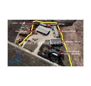 GAMINVEST - De vanzare complex industrial in apropiere de Oradea – Bihor V2046 - imagine 1