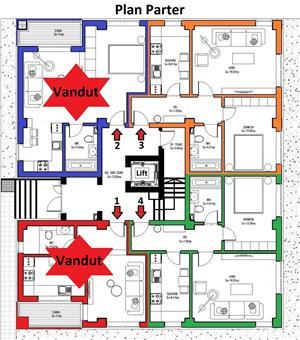 Apartament 2 camere 50mp parter bloc 2020 cu loc de parcare gratuit COMISION 0% - imagine 4