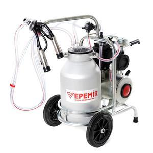 Aparat de muls vaci VEPEMIR 1 post si 1 bidon Aluminiu 20 litri/ Mulgatoare / Mulgatori   - imagine 5