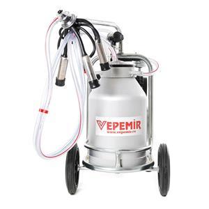 Aparat de muls vaci VEPEMIR 1 post si 1 bidon Aluminiu 20 litri/ Mulgatoare / Mulgatori   - imagine 2