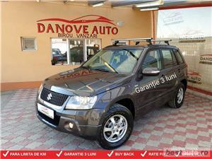 Suzuki Grand Vitara,GARANTIE 3 LUNI,BUY BACK,RATE FIXE,1900 Tdi,130 Cp,4x4,2010.  - imagine 1