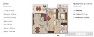 Apartament 2 camere, Pallady, Metrou Nicolae Teclu, Sector 3 - imagine 1