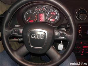 Audi A3 - 8p - 2008 - 2.0 TDI - 140Cp - automata - volan cu padele - imagine 6
