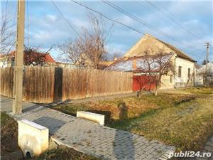 Vand casa cu teren pe colt 1637mp  langa Politia si Primaria Nadlac - imagine 1