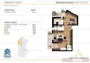 Apartament 3 camere - Dacia/Armeneasca/Mosilor - comision 0 - imagine 12