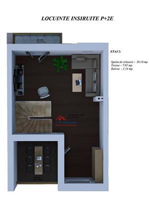 Casa 4 camere 124 mp utili curte si loc de parcare - imagine 3