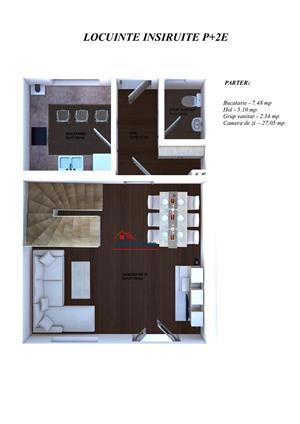 Casa 4 camere 124 mp utili curte si loc de parcare - imagine 2
