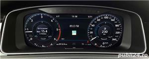 Vw Golf 8 HighLine Bord Plasma/Piele/Distronic//Car-Net/Clima/Navi mare Noua/Alarma/LED/Jante'17 Ful - imagine 8