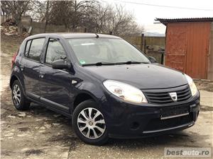 Dacia Sandero*1.2 benzina*Tuv Germania*clima*102909km*euro5*af.2012! - imagine 1