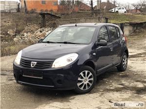Dacia Sandero*1.2 benzina*Tuv Germania*clima*102909km*euro5*af.2012! - imagine 5