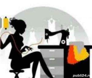 Doresc să lucrez fiind croitoreasă și tiparistă - execut produse cap - coadă - rochii seară - mirese - imagine 6