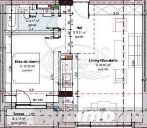 Apartament 2 camere in cartierul Gheorgheni - imagine 3