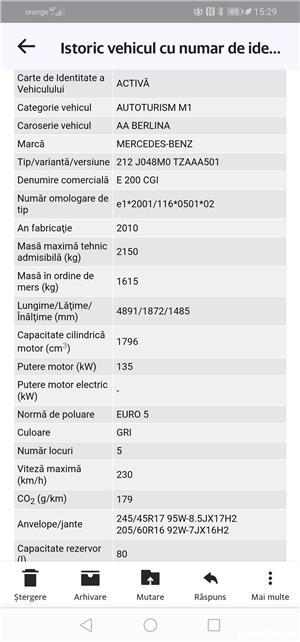 Mercedes-benz Clasa  E 200 CGI - 184 cp - imagine 6