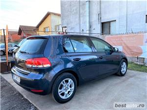 VW GOLF -6 .. 1.4 BENZINA 80 Cp  ,, RATE FIXE EGALE  , GARANTIE INCLUSA ,  , BUY-BACK , TEST-DRIVE - imagine 3
