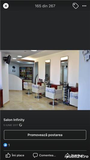 Salonul INFINITY Bacău închiriază posturi de lucru coafură și manichiură/pedichiură - imagine 1