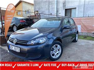 VW GOLF -6 .. 1.4 BENZINA 80 Cp  ,, RATE FIXE EGALE  , GARANTIE INCLUSA ,  , BUY-BACK , TEST-DRIVE - imagine 1
