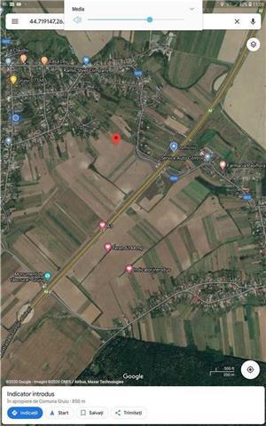 Vand teren 6144 m2,Gruiu_ilfov .km 36 A3,la 15 min de linia de .centura - imagine 1