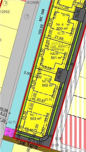 Vand parcela teren mosnita 500 mp front 19m mosnita noua gaz curent apa canal  - imagine 2