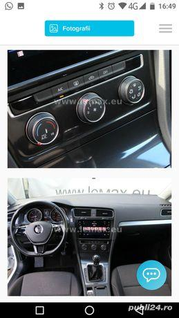 Vw Golf 7 brek an 3 / 2017 motor 1.6 Tdi 115 cp euro 6 fara Ad Blue cutie manuala perfecta stare - imagine 3