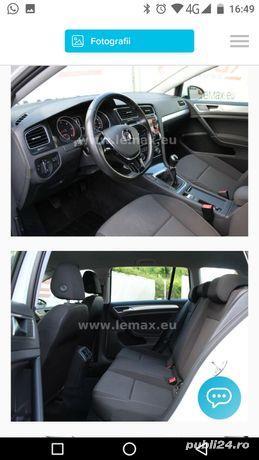 Vw Golf 7 brek an 3 / 2017 motor 1.6 Tdi 115 cp euro 6 fara Ad Blue cutie manuala perfecta stare - imagine 5