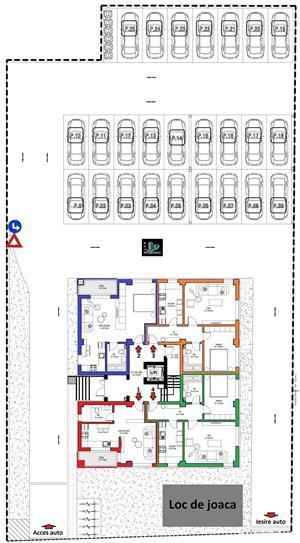 Apartament 2 camere 50mp parter bloc 2020 cu loc de parcare gratuit COMISION 0% - imagine 10