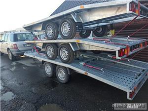 inchiriere remorca 750kg 1500kg 2000kg trailer platforma 1500kg 3500kg slep transport auto remorci - imagine 2