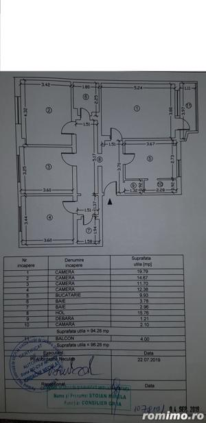 Apartament cu 4 camere decomandat ,vedere catre mare. - imagine 15