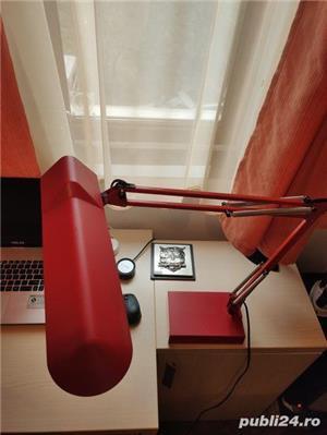 Lampa de birou Luxo T88 - veioza cu brat reglabila - imagine 3