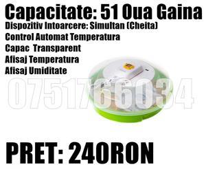 Incubator Clocitoare Electric OUA Gaina Gasca Rata Prepelita Pret Ieftin - imagine 3