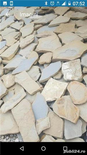 Vând piatră naturală cu 40 lei mp - imagine 2