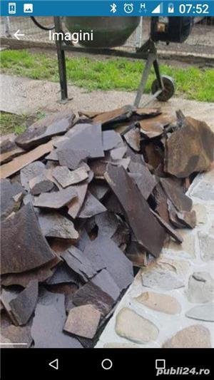 Vând piatră naturală cu 40 lei mp - imagine 1