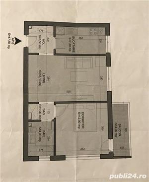 2 camere, et.2 + parcare subterana, vedere curtea interioara / contact 0720889933 - imagine 6