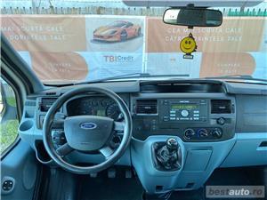 FORD TRANZIT - GARANTIE INCLUSA / RATE FIXE EGALE /  DRIVE TEST / BUY-BACK / EURO 5 / TVA DEDUCTIBIL - imagine 9