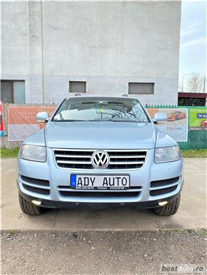 VW TOAREG 2,5 TDI - MANUAL  - GARANTIE INCLUSA / RATE FIXE EGALE /  BUY-BACK / TEST DRIVE  - imagine 7