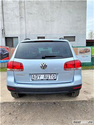 VW TOAREG 2,5 TDI - MANUAL  - GARANTIE INCLUSA / RATE FIXE EGALE /  BUY-BACK / TEST DRIVE  - imagine 8