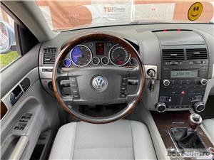 VW TOAREG 2,5 TDI - MANUAL  - GARANTIE INCLUSA / RATE FIXE EGALE /  BUY-BACK / TEST DRIVE  - imagine 10