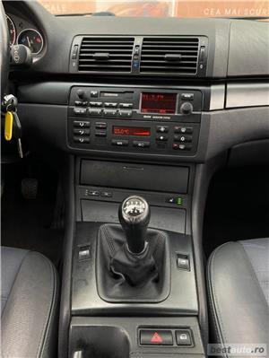 BMW 3.20 Facelift  150 cp  - GARANTIE INCLUSA - RATE FIXE EGALE ,BUY-BACK / KM REALI / DRIVE TEST - imagine 17