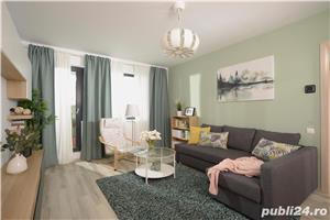 Apartament 2 camere cu gradina 69 mp langa Padurea Baneasa, zona cu cel mai curat aer din Bucuresti. - imagine 2