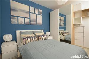 Apartament 2 camere cu gradina 69 mp langa Padurea Baneasa, zona cu cel mai curat aer din Bucuresti. - imagine 6