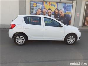 Dacia Logan =SANDERO  LAUREATE = 32.000 KM reali  - imagine 11