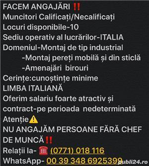 Locuri de munca în italia - imagine 2