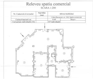 Spatiu comercial pe CALEA BUCURESTI (DN1) -Darste.-320 mp,pt.supermarket,showroom,cabinete medicale, - imagine 2