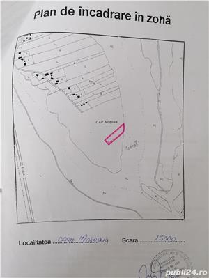 Vand teren com. Mosoaia , Arges  - imagine 2