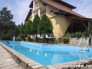 Vila 15 camere, 1330mp curte, piscina,ideal pt. afacere, Rosu-Chiajna - imagine 1